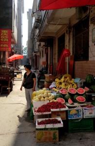 Lovely fruit market