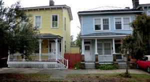 215 Henry Street---in the blue house, screen door on the right, where I lived back in the day