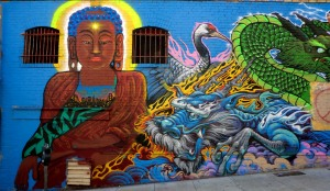 mural, Chinatown