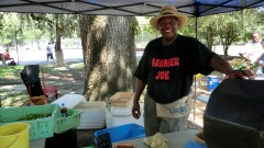 Saturday Farmers Market, Forsyth Park, Savannah. And when a mocking bird calls in that light? It's like love laughing at the corners of Buddha's great grin.