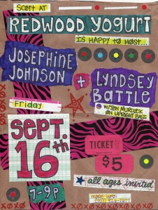 Lyndsey Battle & Josephine Johnson are playing a show!