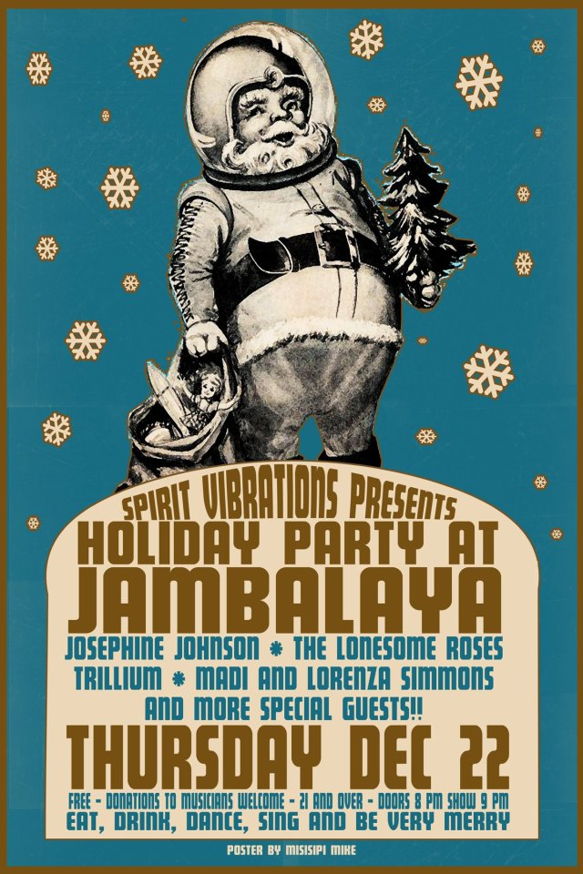 Jambalaya Holiday Show, Thursday, Dec. 22