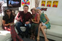 Julie Brown, Kato Kaelin, Josephine & Princess