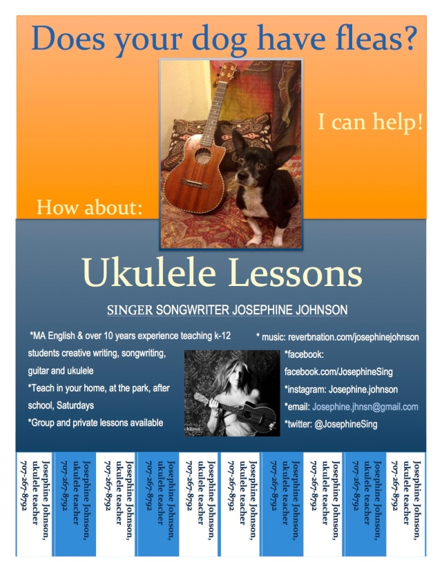 I will teach you ukulele
