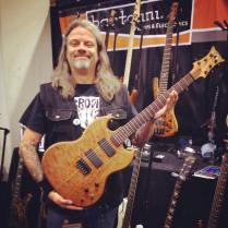 Wolf Navarro Custom Guitars, Anaheim, CA, NAMM 2016